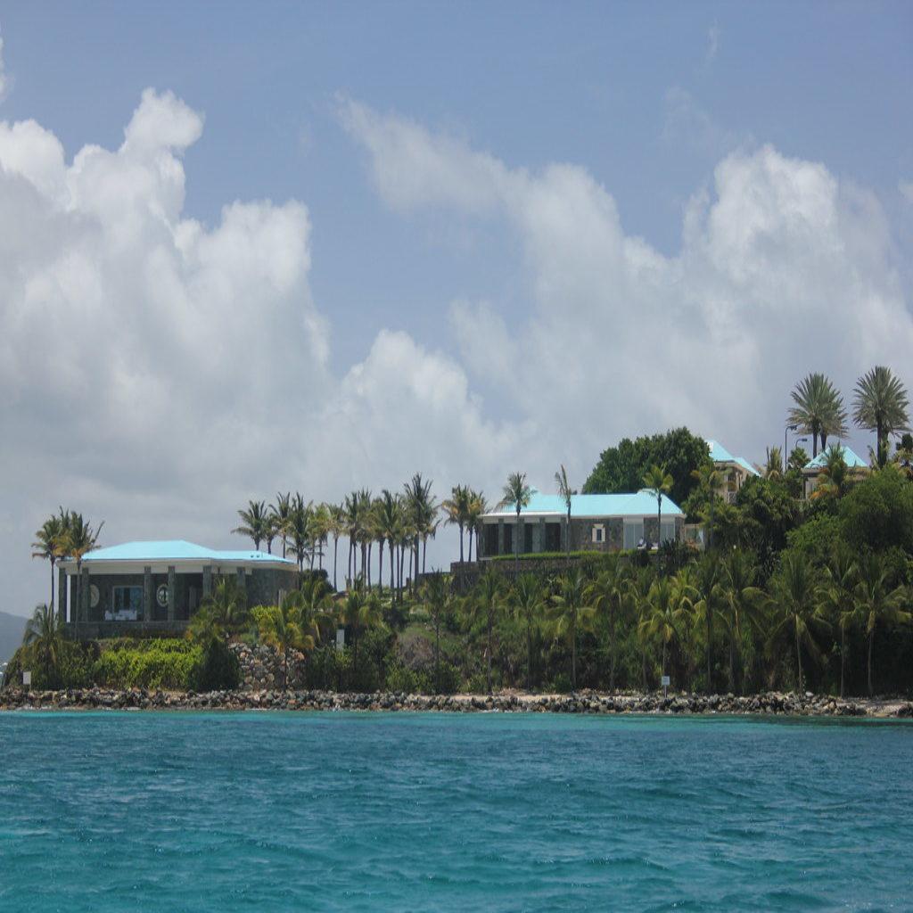Little Saint James Island